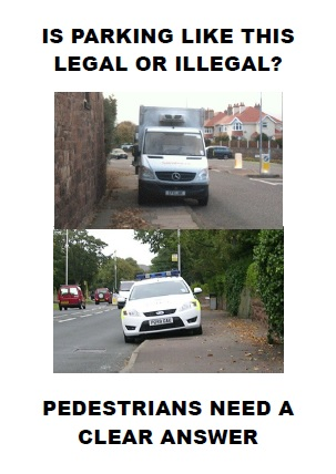 vehicles on pavements